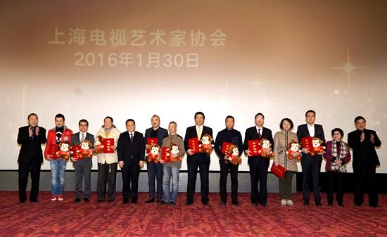 是上海电视艺术界德艺双馨队伍建设的有生力量